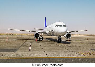 pista, aereo, aeroporto