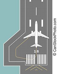 pista aeroplano