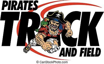 pista, piratas