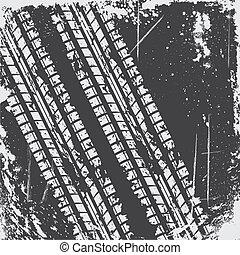 pista pneumatico, fondo