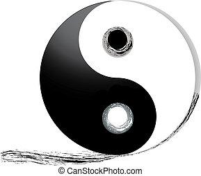 pista, yang de yin