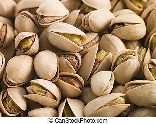 Pistachio nuts in shells