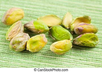 pistachio nuts - photo shot of pistachio nuts