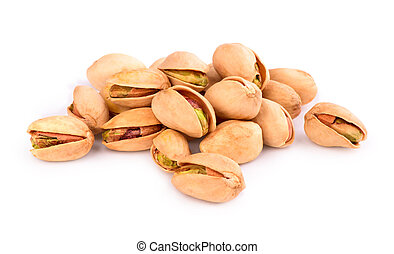 pistachios on the table