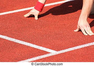 piste, champ, athlétisme