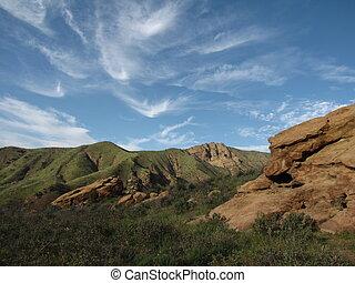 piste, chumash, 2, géologie