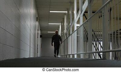 piste, personne agee, intérieur, marche