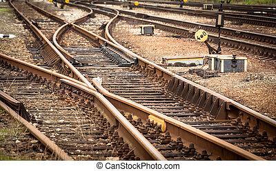 pistes, ferroviaire