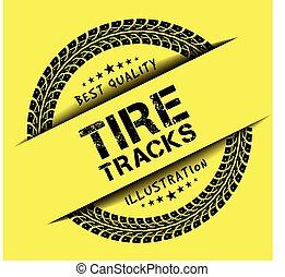 pistes, pneu