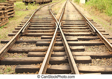 pistes, rail