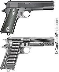 pistola, cheme