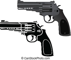 pistolas, dois