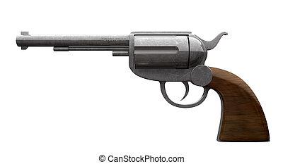 pistole, seite