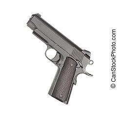pistolet, isolé