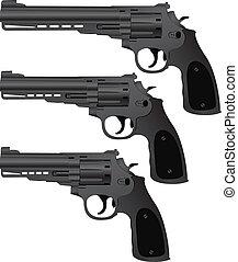 pistolets, ensemble