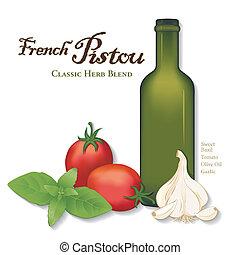 Pistou, French Herb Sauce - Pistou, popular French Provencal...