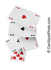 piszkavas, kártya