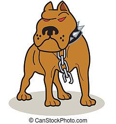 Pit Bull Dog Clip Art
