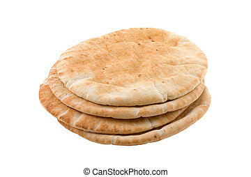 Pita Bread - Pita bread isolated on white