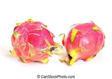 pitaya on a white background