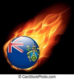 pitcairn, colori, bandiera, distintivo, isole