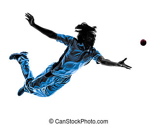 pitcher Cricket player silhouette - pitcher Cricket player ...