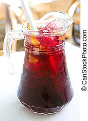 pitcher of sangria