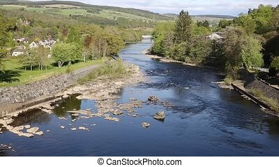 Pitlochry Scotland UK River Tummel
