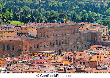 Pitti Palace(Palazzo Pitti) - is the largest of Palazzo Florence, an outstanding monument of architecture quattrocento.