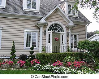 pittoresk, hus