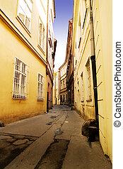 pittoresque, prague, rue