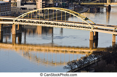 pittsburgh , γέφυρα