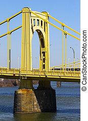 Pittsburgh Bridge - Seventh Street Bridge in Pittsburgh