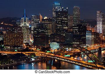 Pittsburgh, láthatár