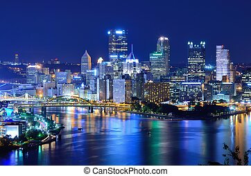 pittsburgh, skyline