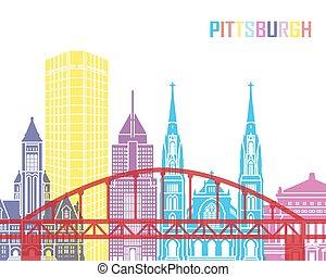 Pittsburgh V2 skyline pop