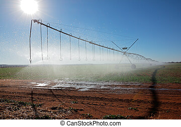Pivot irrigation