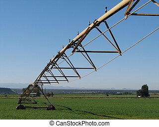 pivote, sistema de irrigación