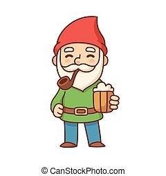 piwo, gnom