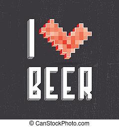 piwo, miłość