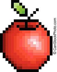 Pixel an apple