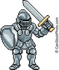 Pixel Art Knight