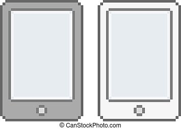 Pixel art tablets