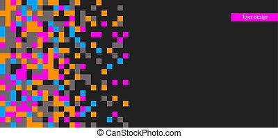 color pixel pattern