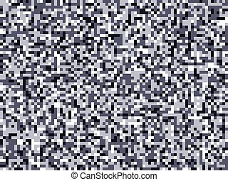 Pixel camuflage gray city seamless pattern