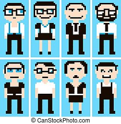 pixel, dessin animé