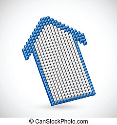 pixel, freccia