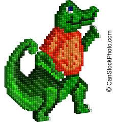 Pixel Gator