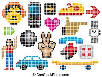 pixel, graphiques