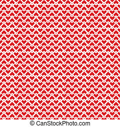 Pixel Hearts pattern